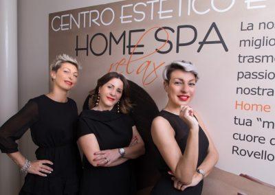 Emanuela, Inga e Sandj, tre giovani sorelle con un sogno comune: dar vita ad una realtà chiamata Home Spa Relax.